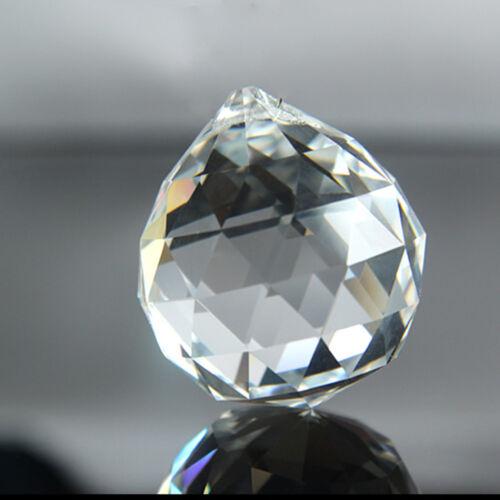 Percés Perles Cristal Verre Lampe de plafond pendentif loose Lucency Facette Cut Home