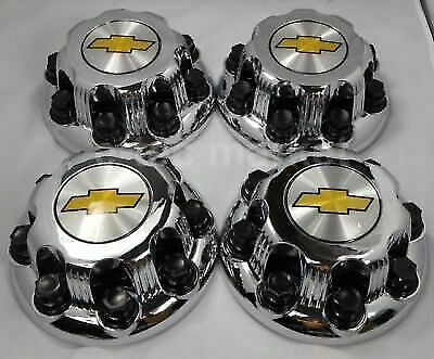 "4X New Chrome 8-lug Wheel Center Hub Cap SILVERADO 2500 16/"" van chevy 9597170"