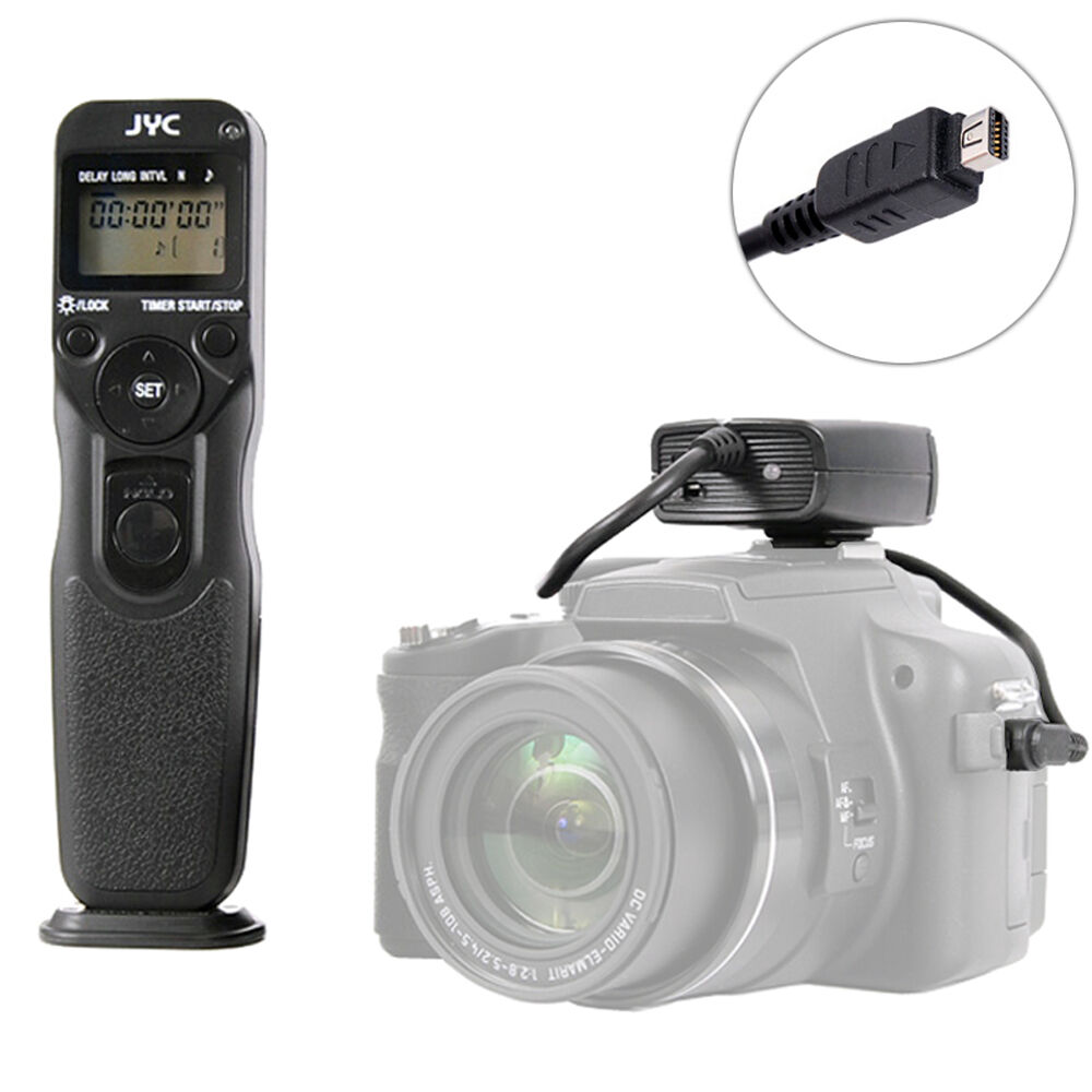 RC Remote Control With Timer Cable Connection Fits Olympus 410 420 510 520 620