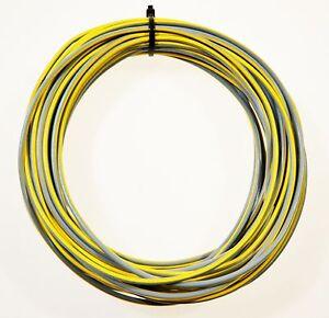 KFZ Kabel Leitung FLRy 0,5mm² 10m weiß Fahrzeugleitung Auto Pkw Lkw