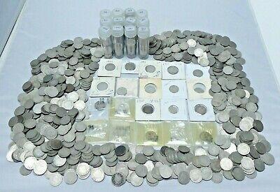 Liberty V Nickels 5 cent coins FULL DATES NO Culls random dates LOT of 5  .U.S