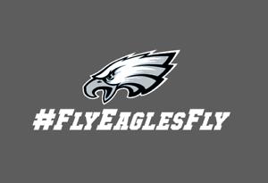 Philadelphia Eagles Fly Eagles Fly Bumper Window Vinyl