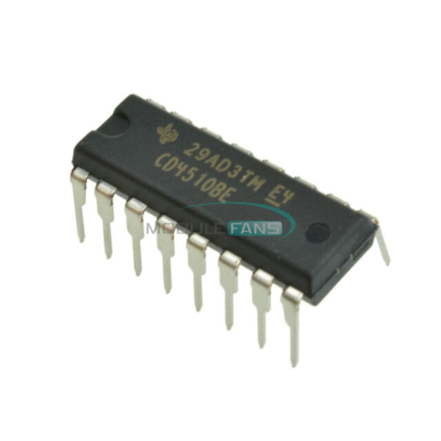 10PCS CD4510 CD4510BE CMOS PRESETTABLE UP/DOWN COUNTERS DIP16 IC
