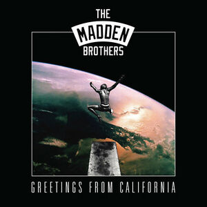 Madden-Brothers-Greetings-From-California-Vinyl-LP-NEW-SEALED-Good-Charlotte