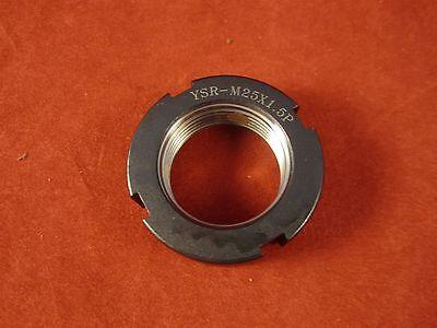 Yinsh Precision Bearing Locknut YSR-M30x1.5P-1 Grinding- Black