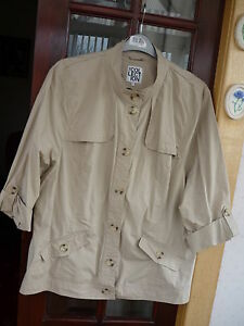 The Collection @ Debenhams~ladies lightweight beige cotton jacket ...