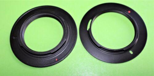 De alta calidad M42 o M39 Lente Adaptador de montaje de cámara Pentax K Series Anillo BNB