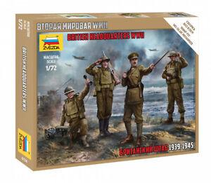 Zvezda 1/72 Figures - British Headquarters 1939 - 1945 WWII Z6174