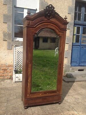 French Antique Vintage Henri Ii Style Burr Walnut Wardrobe With The Best Service Antiques