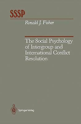 Social Psychology of Intergroup and International Conflict Resolution Hardcover