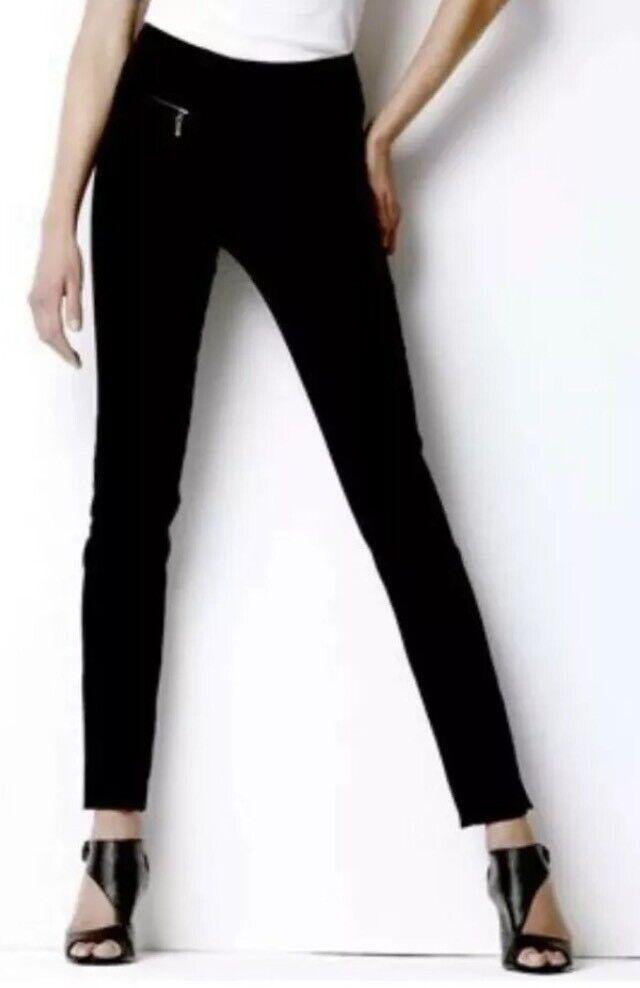 ???? Next The Ultimate Capri ???? Taille 10 Reg Marine Foncé Pantalon Extensible Neuf