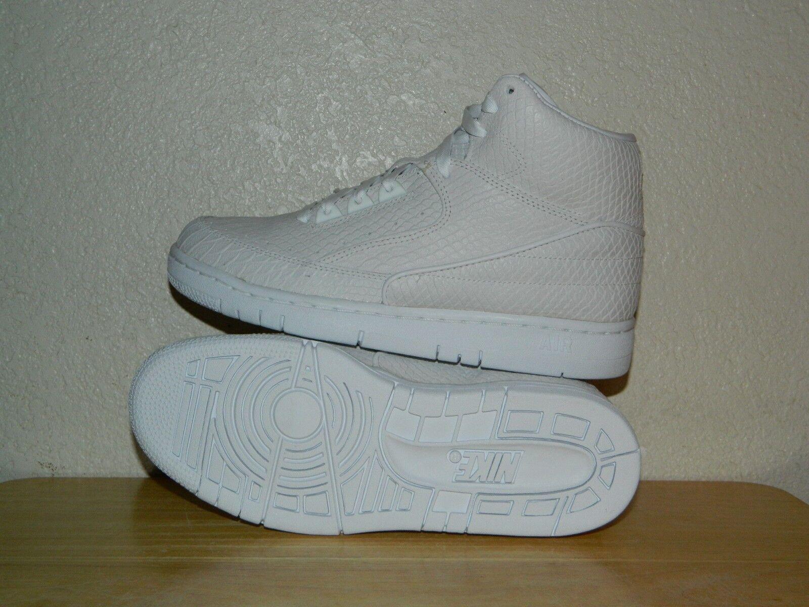 Men's Nike Air Python Premium Shoes 705066-100 Comfortable