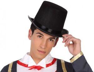 Chapeau Noir Haut De Forme Déguisement Homme Charleston Magicien Vampire Neuf Maikbq6o-07181940-655153434