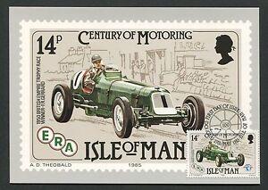 ISLE-OF-MAN-MK-1985-AUTOS-CARS-ERA-OLDTIMER-MAXIMUMKARTE-MAXIMUM-CARD-MC-d5145