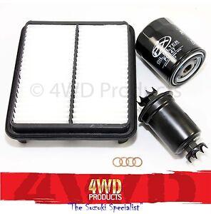 Oil/Air/Fuel Filter SET - Suzuki Vitara LWB 5DR 2.0-V6 ...