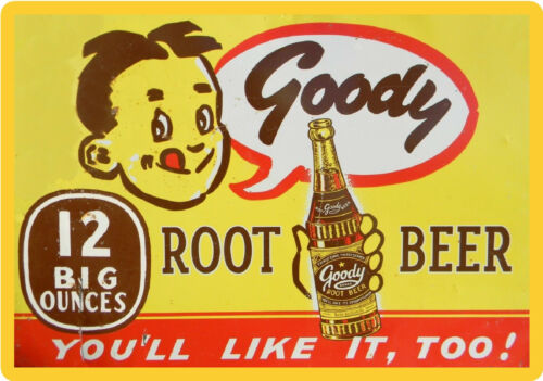 Magnet Tool Box Goody/'s Root Beer  Soda 1940/'s Image  Refrigerator