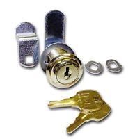 Cabinet Disc Tumbler Cam Lock, 1 3/16 Cylinder N8053