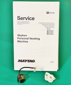 Maytag-Skybox-Compressor-Starter-Relay-Overload-Protector-Service-Manual-Kit