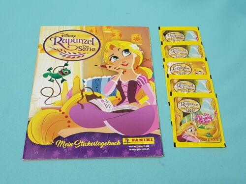 5 bolsas álbum Panini Disney Rapunzel la serie este álbum