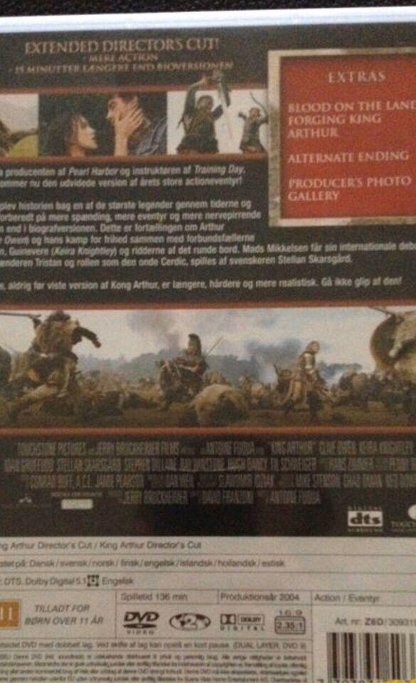 Kong Arthur Directirs Cut, DVD, eventyr