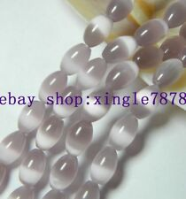 """Pretty 8x12mm Yellow MEXICAN Opal Gemstone Rice Loose Beads 13/"""""""