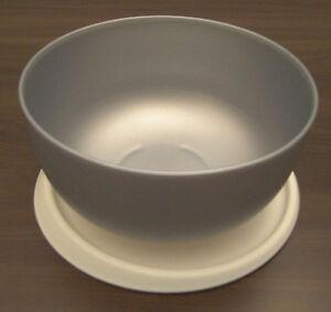 Tupperware-Ergonomica-Ergonomic-1-3-l-Schuessel-mit-Deckel-Silber-Neu-OVP