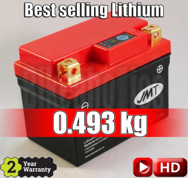 Mejor venta de litio-ion Batería De La Motocicleta JMT YTZ5S-BS 75% más ligero