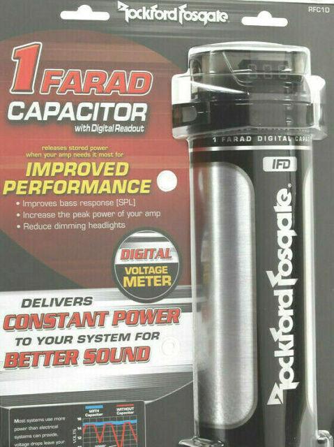 Rockford Fosgate RFC1D 1 Farad Digital Capacitor
