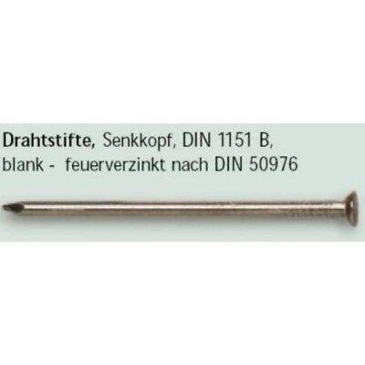 Nägel DIN 1151 Senkkopf EDELSTAHL A2 1,8X30mm 100 Stück Drahtstifte