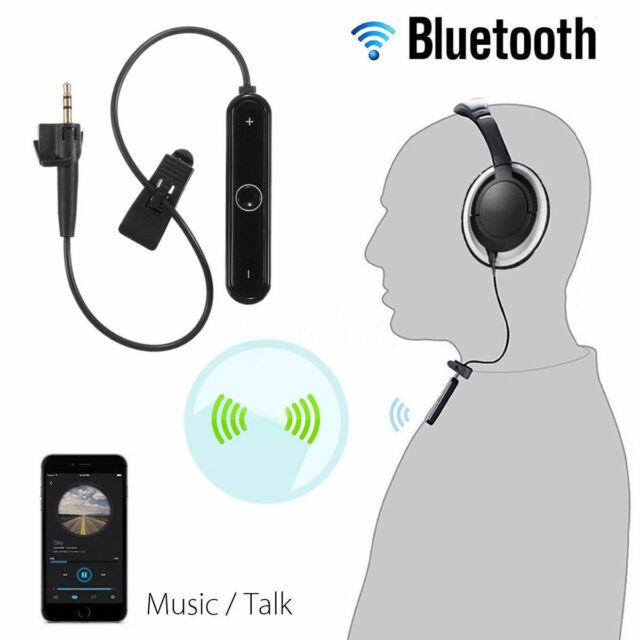 Bluetooth Adapter for BOSE AE2 AE2i AE2w Black USB Charging Headphones Wireless
