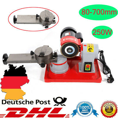 250W Wassermühle Sägeblattschärfgerät Kreissägeblatt Schärfmaschine 80-700mm DHL