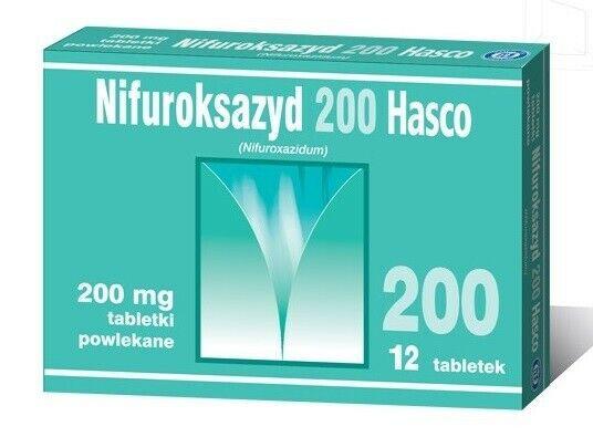 Nifuroxazide 200mg 12 Tablets in Acute or Chronic Diarrhea
