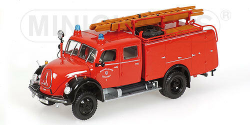 Magirus deutz merkur feuerwehr 1 43 modell 439141074 minichamps