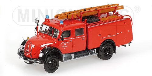 MAGIRUS DEUTZ MERKUR FIRE ENGINE 1 43 MODEL 439141074 Minichamps