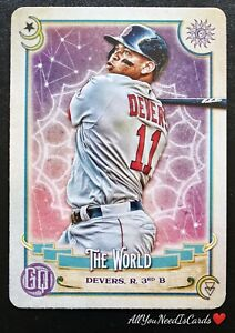Rafael Devers 2020 Topps Gypsy Queen Tarot Of The Diamond Insert Card#21 Red Sox