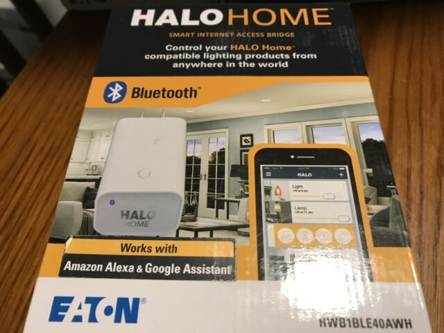 Halo Home White Bluetooth Enabled 4.0 Smart Internet Access Bridge HWB1BLE40AWH
