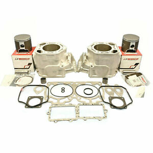 Re-Plated-82mm-Std-Ski-Doo-800-non-Ho-Cylindres-Wiseco-Pistons-Joints-01-03-Mxz