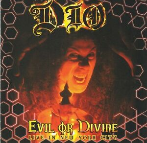 DIO - Evil Or Divine - Live In New York City - CD Album Killing the Dragon Push