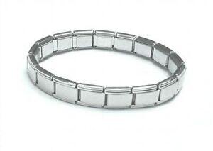 9mm-Classic-Size-Italian-Charm-Shiny-Starter-Base-Bracelet