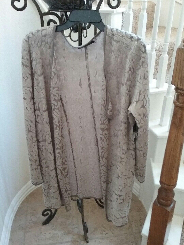 NWT ZOZO Texturot Cardigan Sweater Größe L MSRP