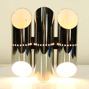 Wand-Leuchten-Zugschalter-Lampen-Design-Tubular-Wall-Lamps-Denmark-60er-70er