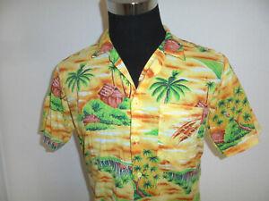 vintage Gentle Fashion Hawaii Hemd hawaiihemd surf surfer shirt 90s surf Gr. S