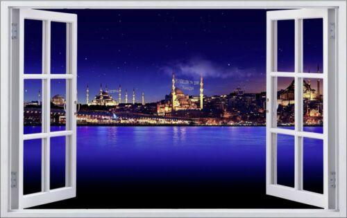 Istanbul Türkei Stadt City Wandtattoo Wandsticker Wandaufkleber F0035