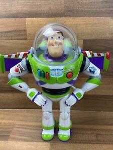 Disney Pixar Buzz Lightyear Action Figure Toy Story Talking Sounds Thinkway Toys