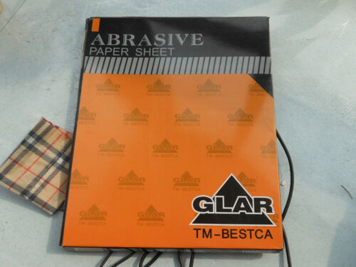 "10 pcs Hi Quality Abrasive Paper Sandpaper 4000 Grit 9/"" x 11/"" Wet Dry Waterproof"
