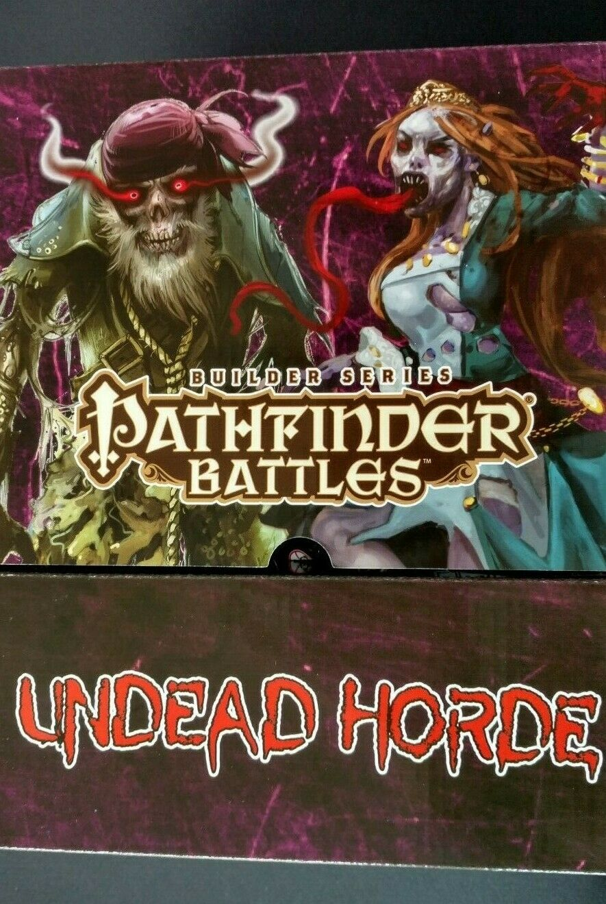 Pathfinder Battles Builder Series Undead Horde Booster box SEALED