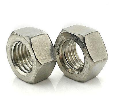 304/201/316 Stainless Hex Nuts Nut M1 M1.2 M1.4 M1.6 M2 M2.5/M3/M4 M5- M10