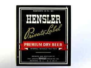 Holland Brand Beer Bottle IRTP Label Eastern Hammonton