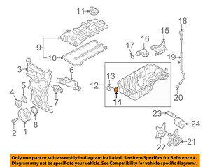 details about suzuki oem 99 08 grand vitara engine parts drain plug gasket 0916814015 suzuki df200 engine diagram suzuki engine parts diagram #15