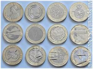 Royal-Mint-Brilliant-Uncirculated-2-Two-Pound-Coin-2015-2019-Choose-Your-Coin